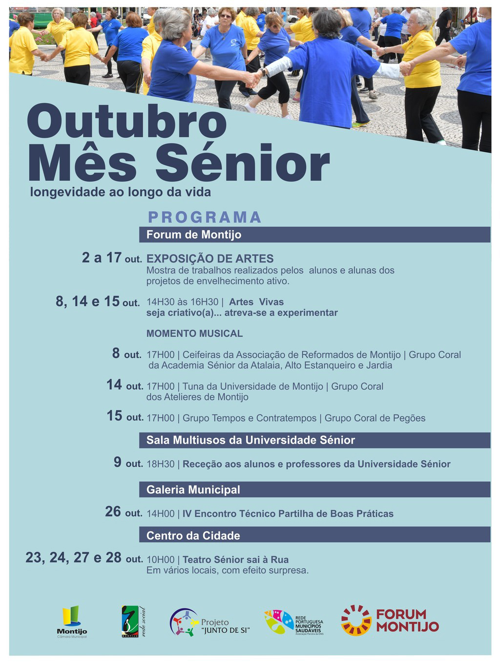 Cartaz mes senior
